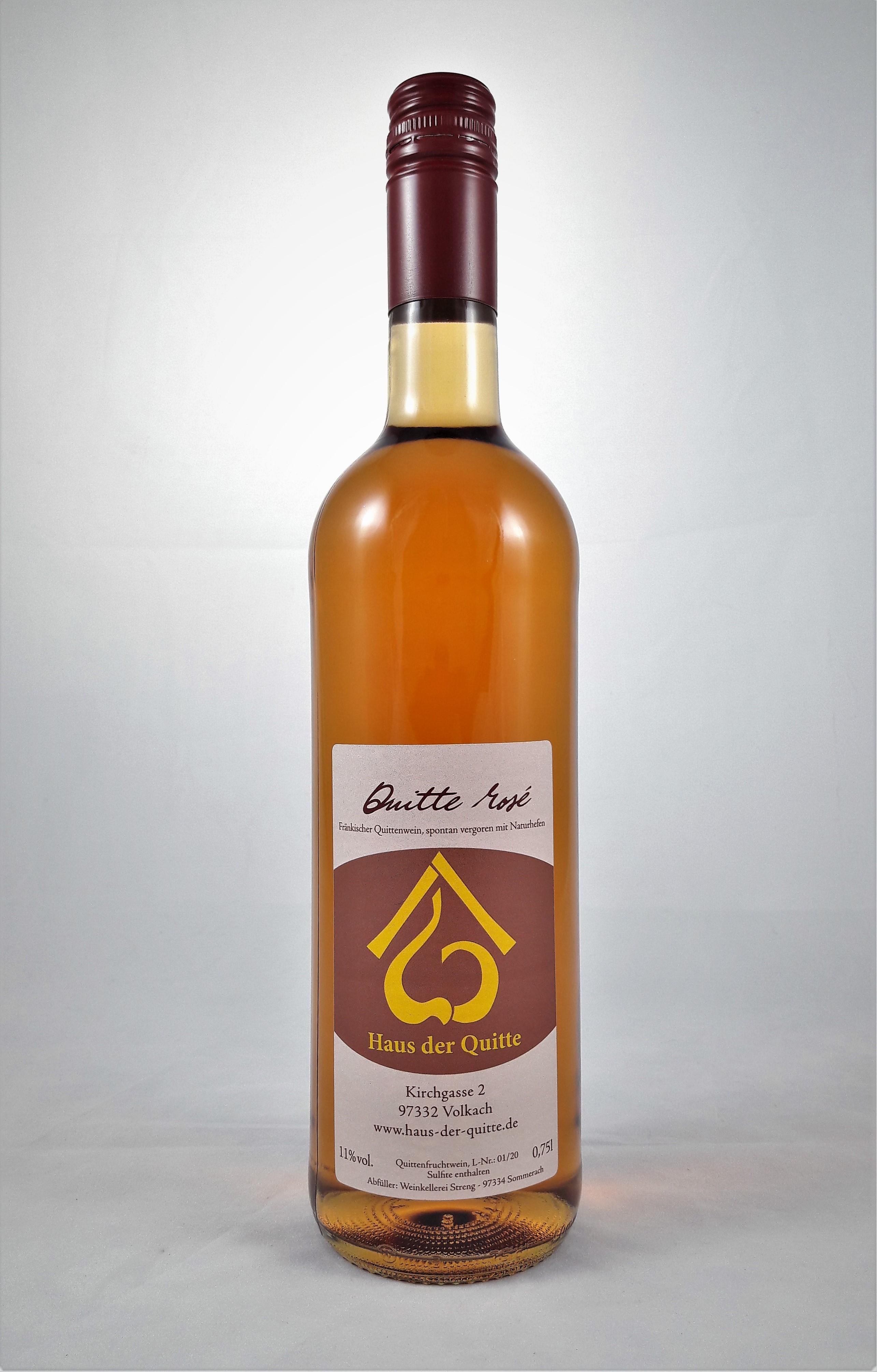 Quitte rosé, 0,75 l