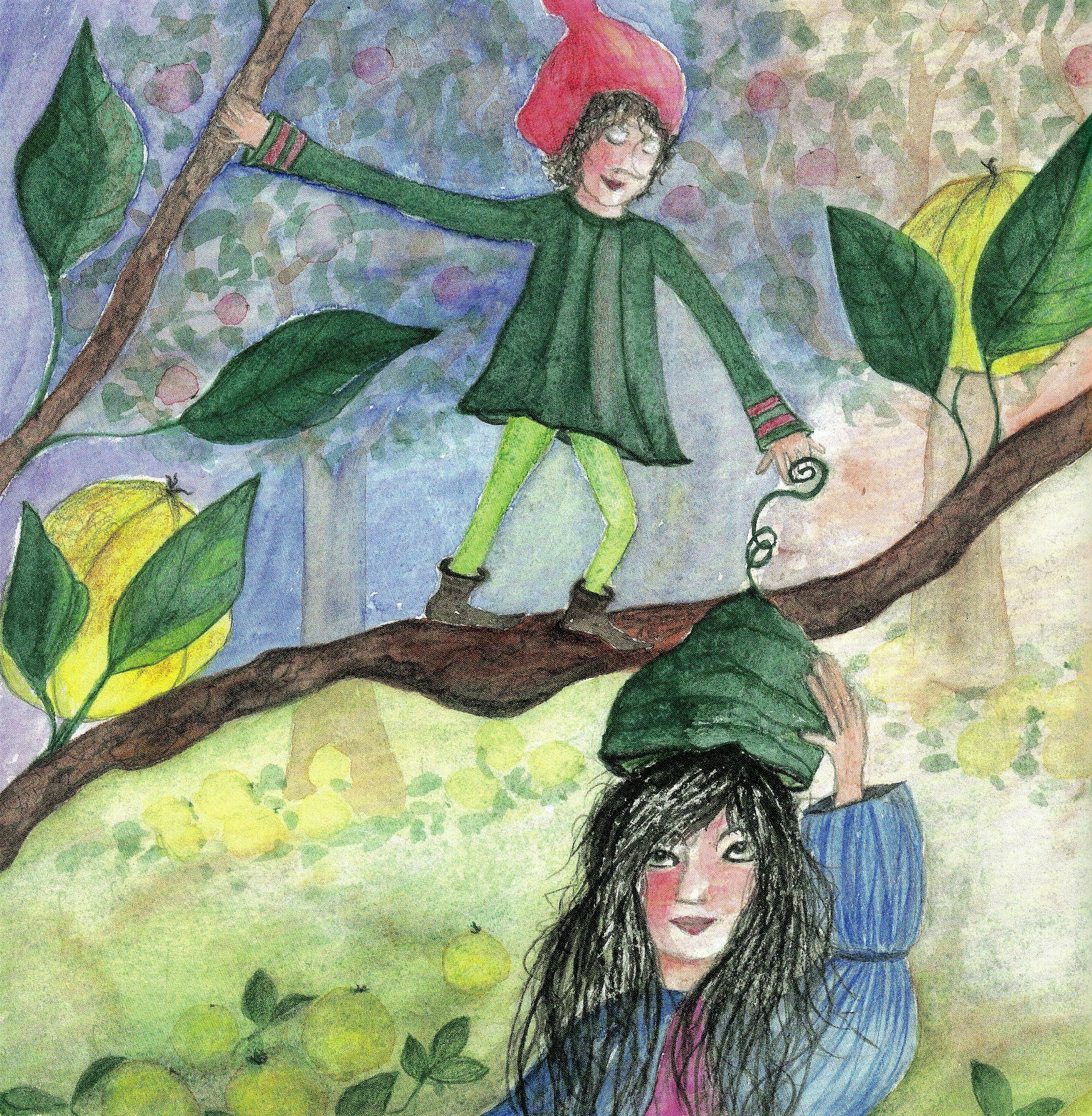 Kinderpaket: Frau von Quitte und der Apfelwicht