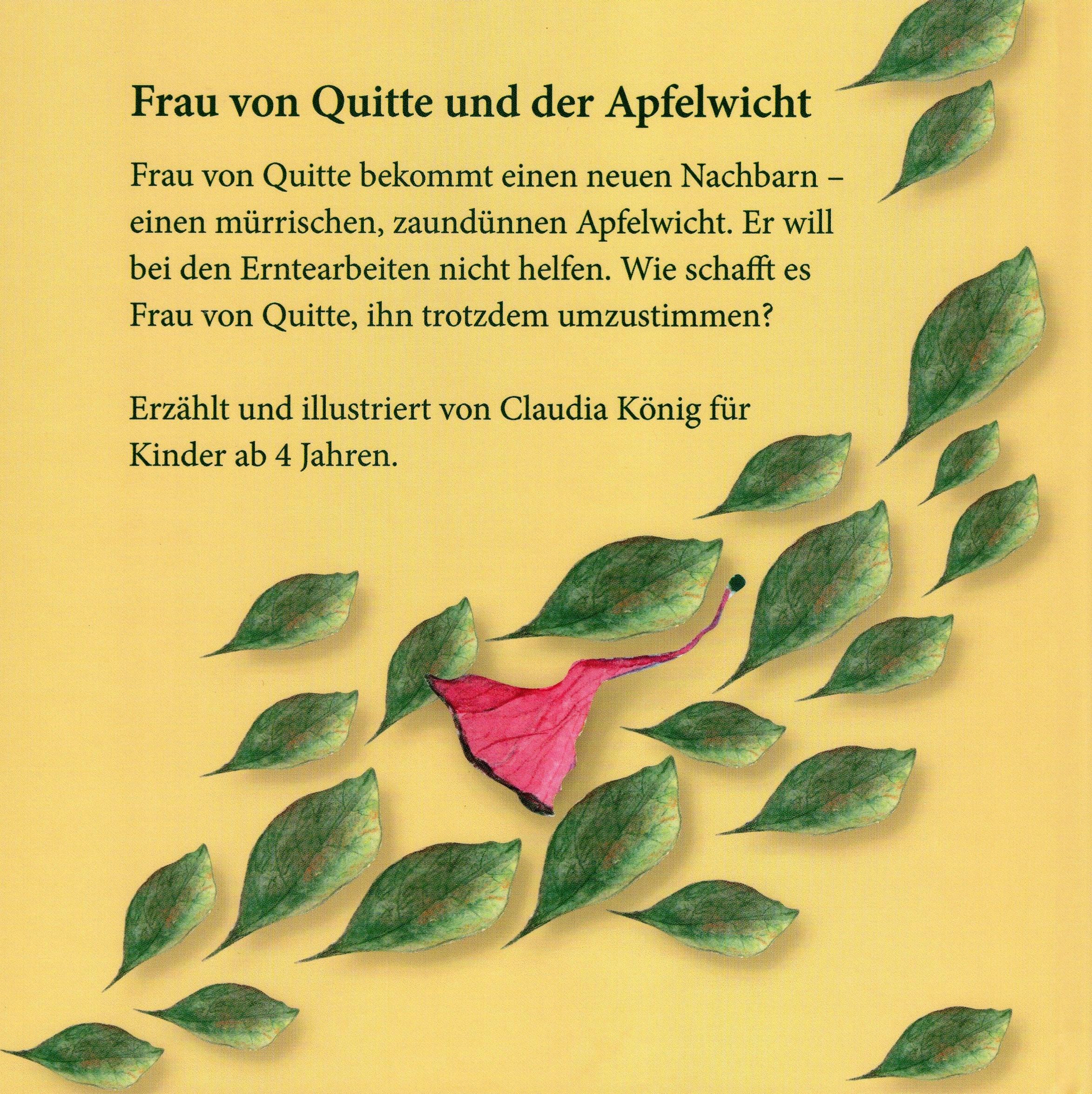 Frau von Quitte und der Apfelwicht