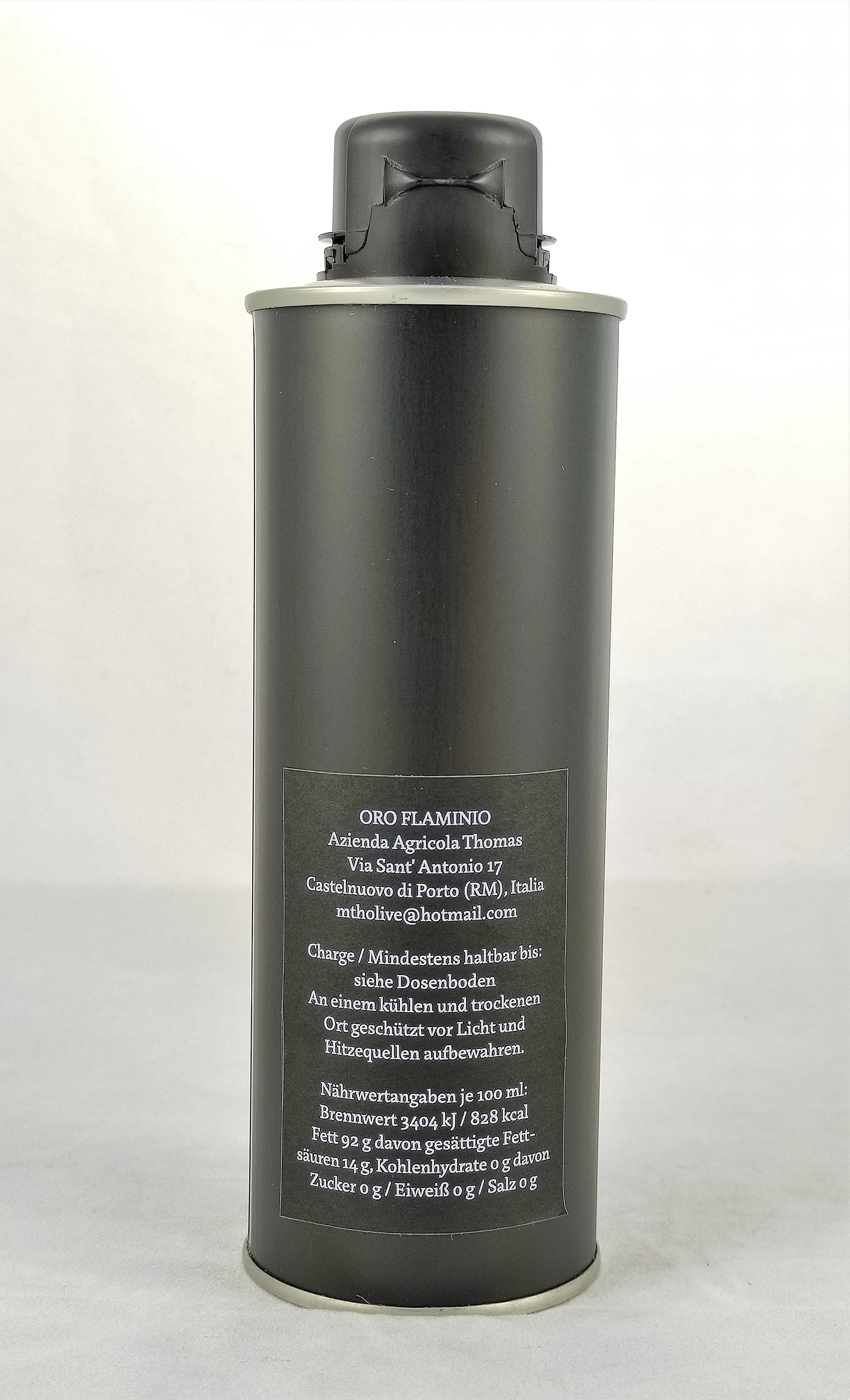 Oro Flaminio Olivenöl - natives Olivenöl Extra, 0,25 l